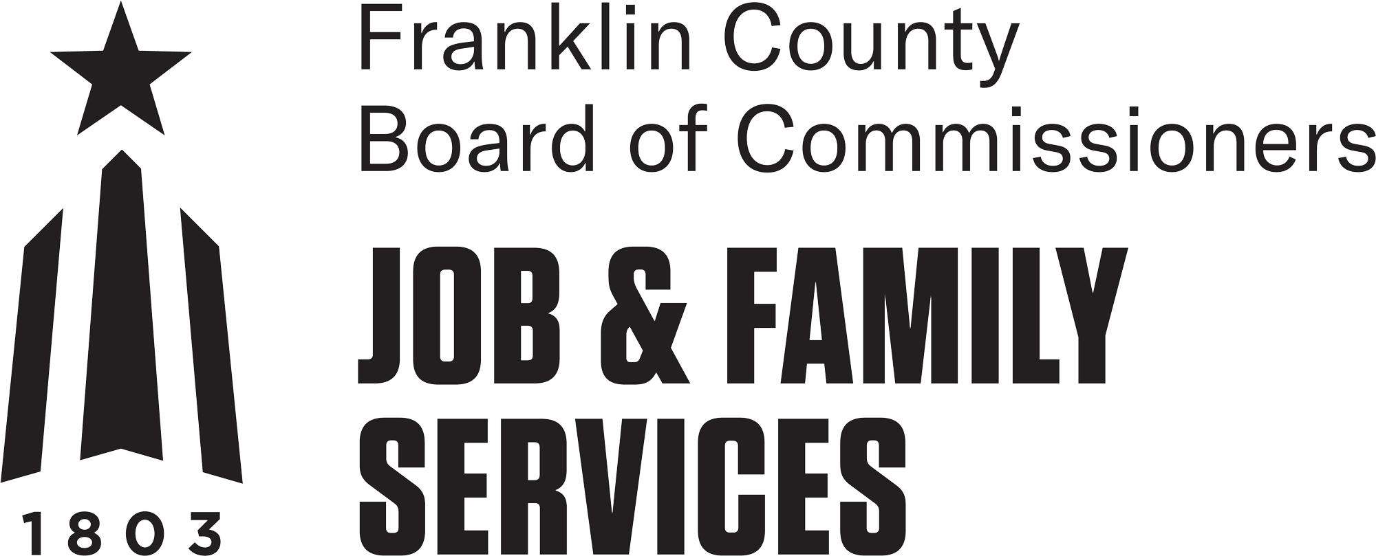 Franklin County Board of Commissioners Job & Family Services logo