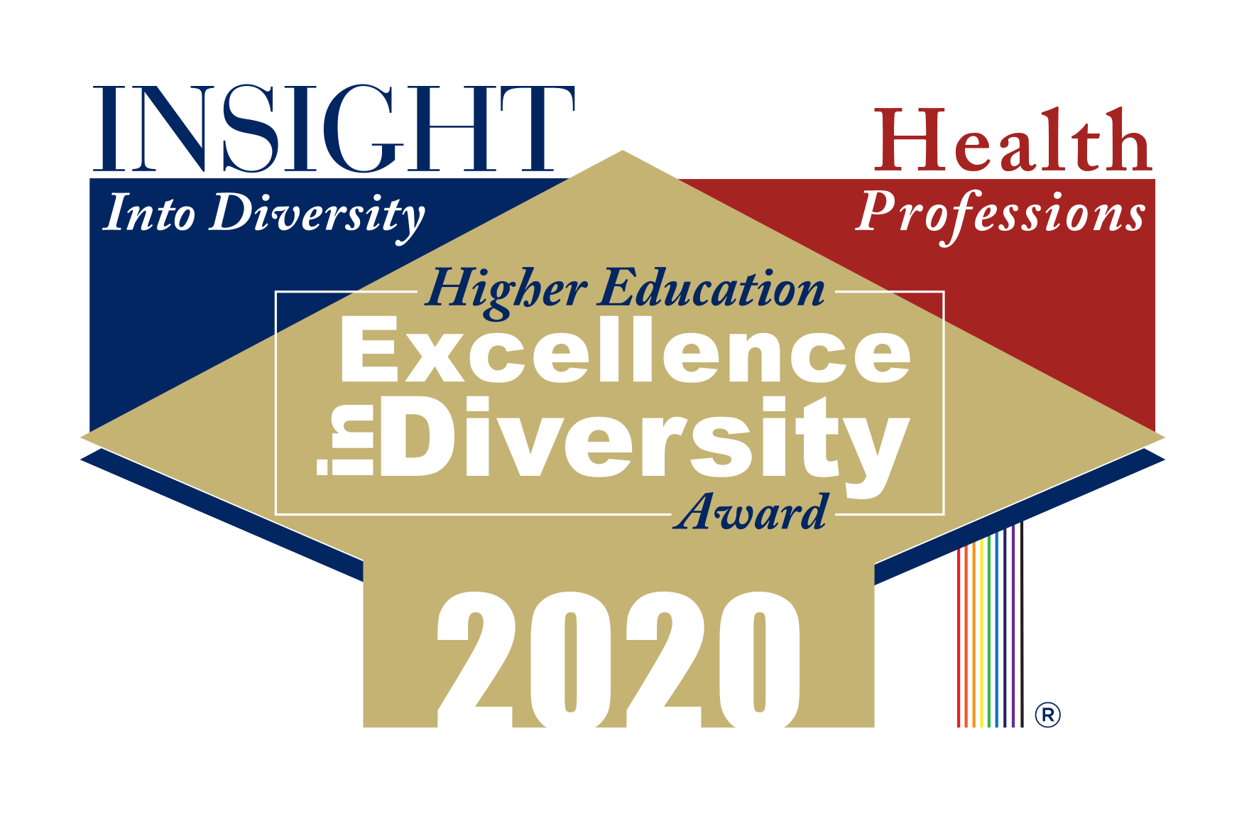Insight Into Diversity 2020 Health Professions Higher Education Excellence in Diversity (HEED) Award logo