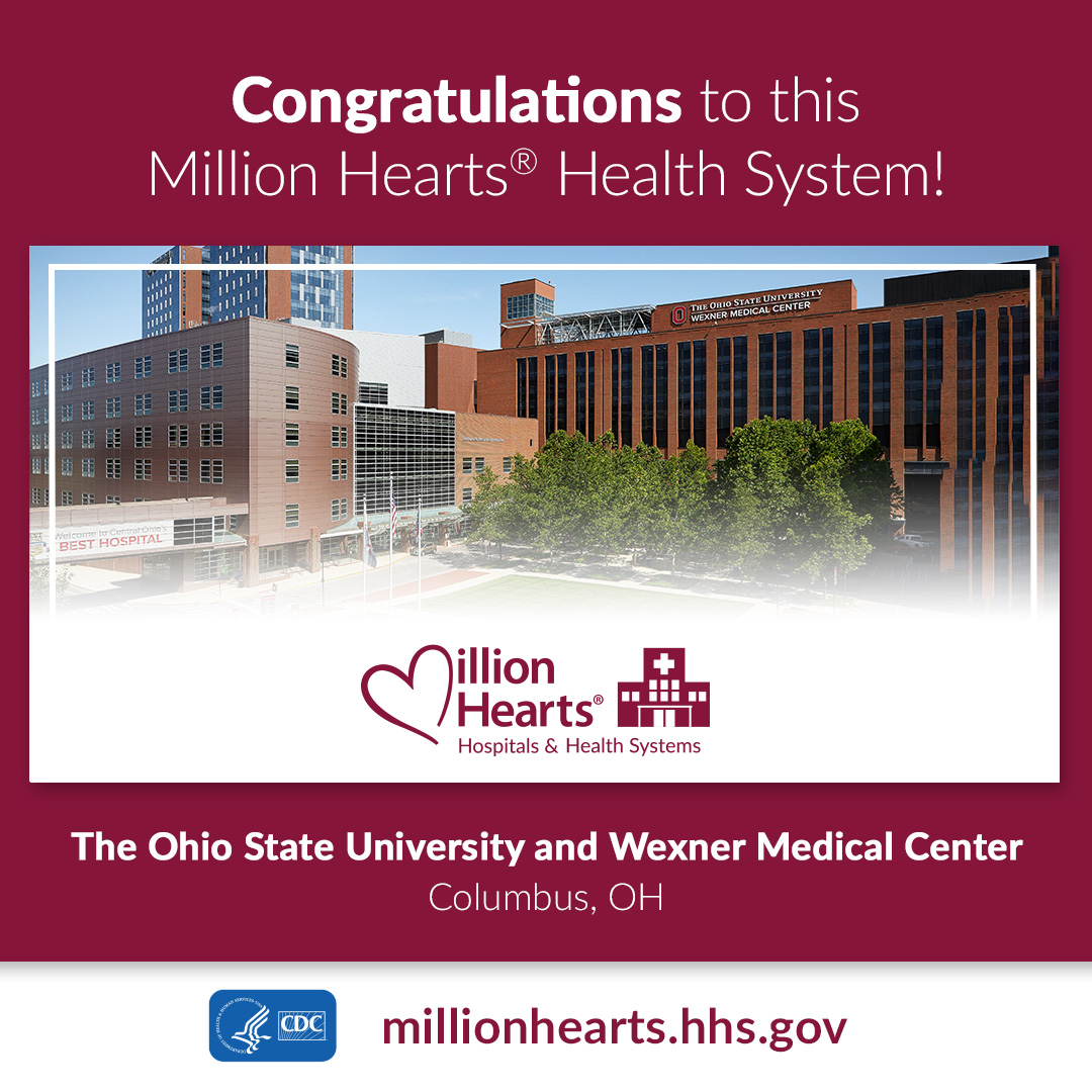 Million Hearts Health System graphic