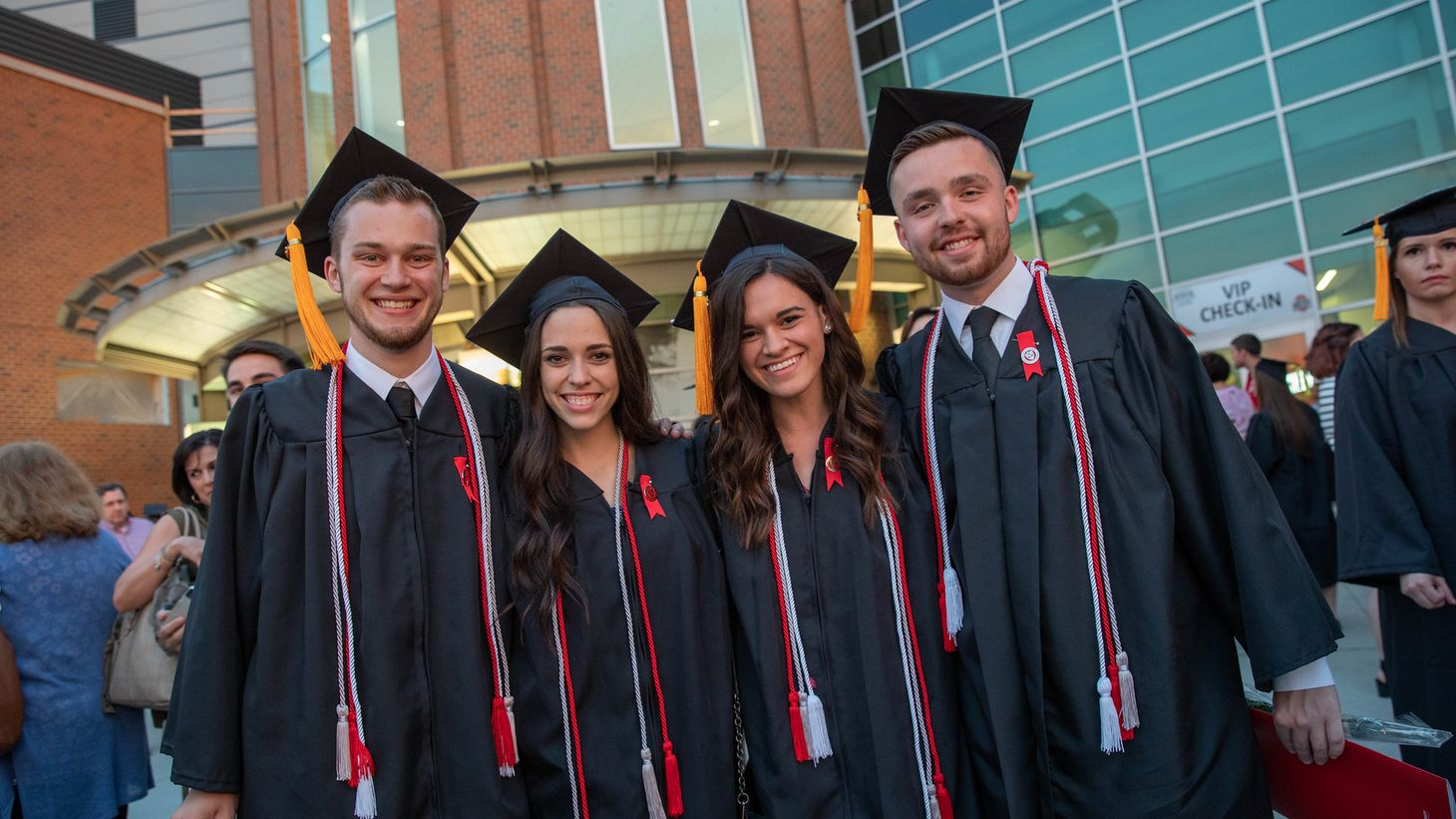 group of students at Convocation