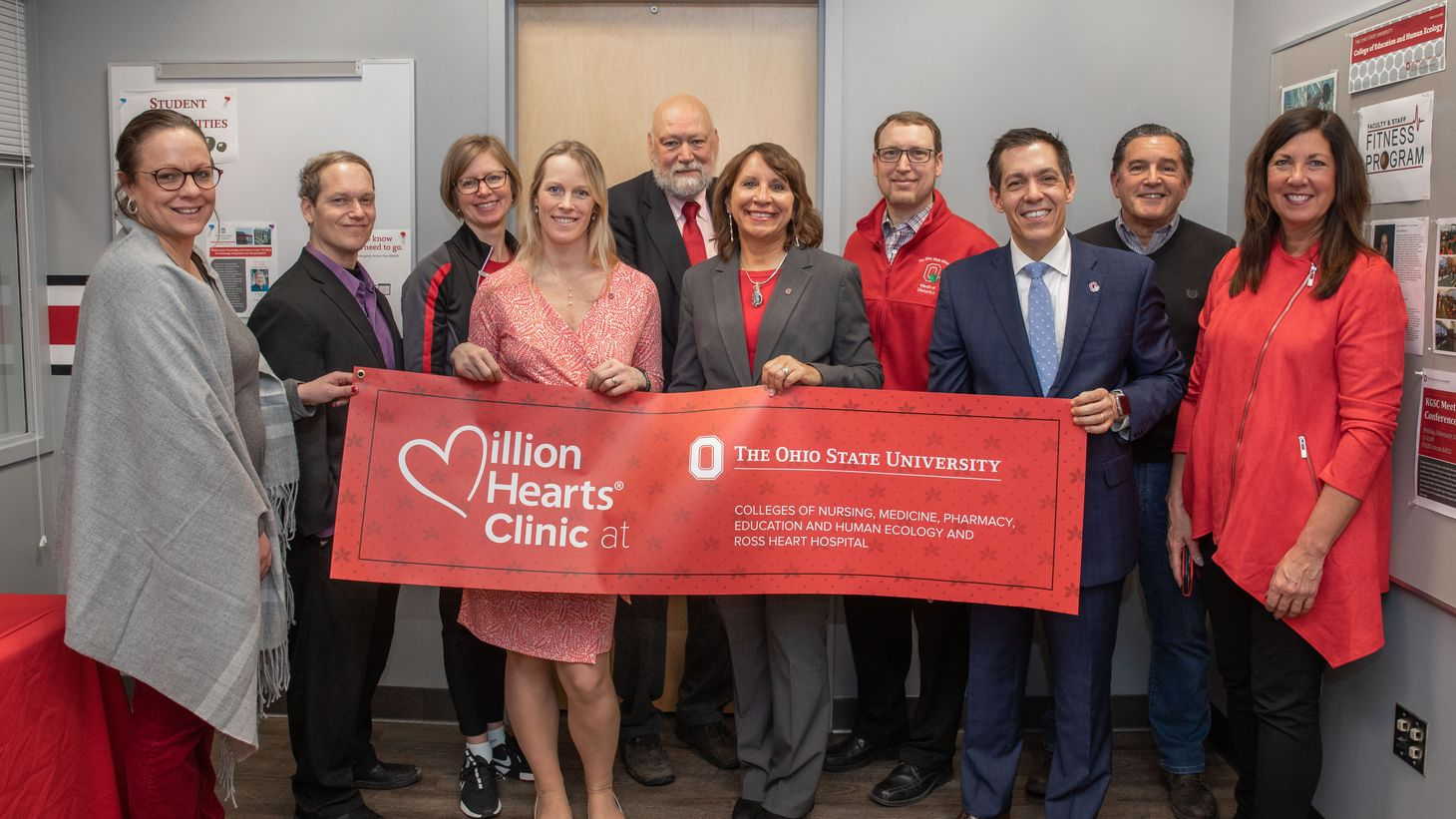 Million Hearts Clinic opening