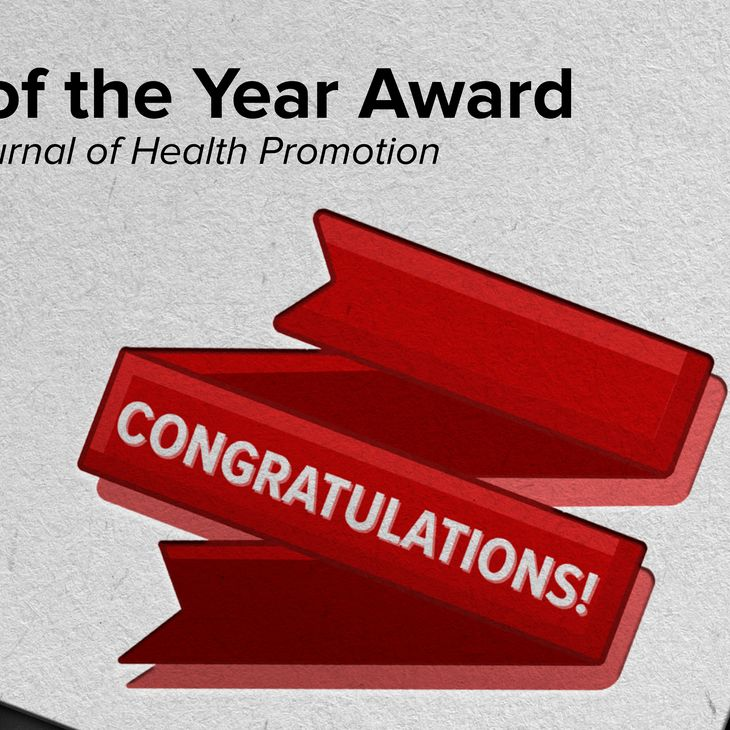 Paper of the Year Award - Congratulations!