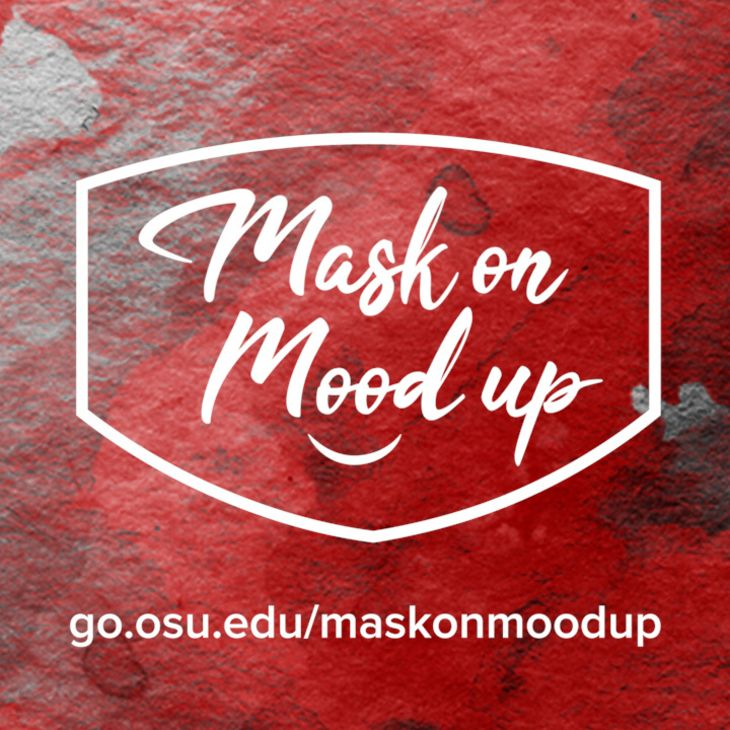 Mask On/Mood Up static graphic